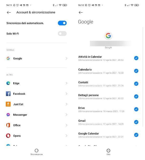 Come salvare i dati del telefono su Google