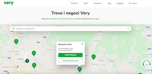 Negozio Very Mobile