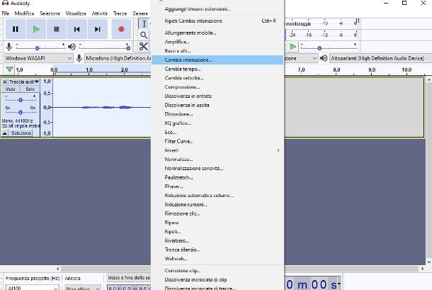 Come modificare la voce su PC: Windows