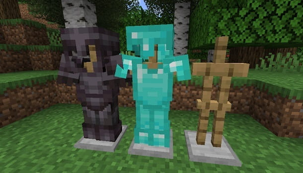 Diamanti armature Minecraft