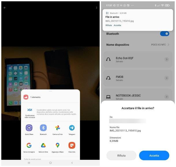 Come trasferire dati da Samsung a Xiaomi