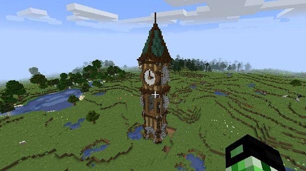Torre orologio Minecraft