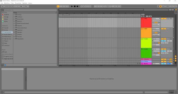 schermata Ableton Live