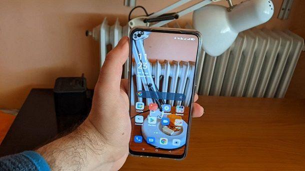 Foto con sfondo trasparente smartphone