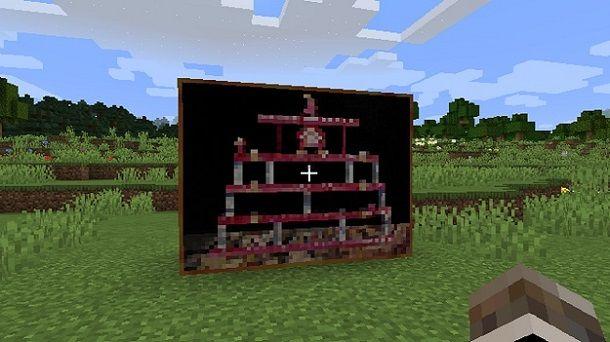 Preset quadro Minecraft