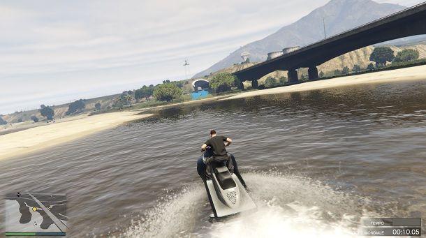 Delta V Gara acquatica GTA Online