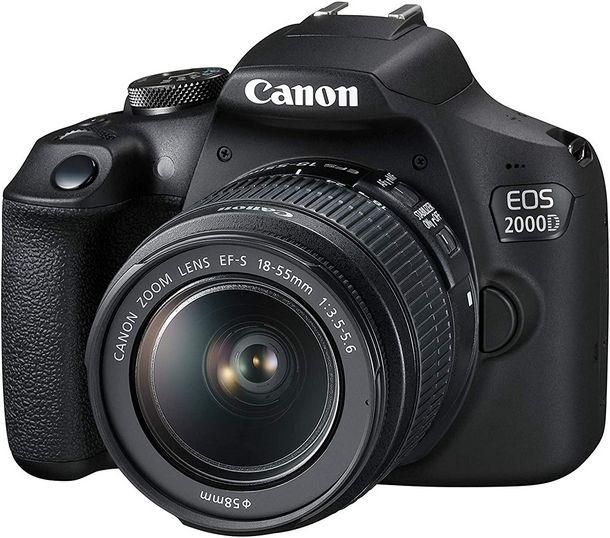 Canon EOS 2000D tra le migliori Reflex economiche