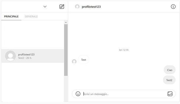 Instagram messaggi privati