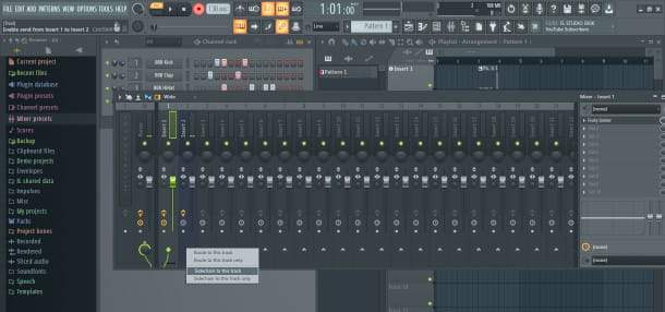 sidechain mixer