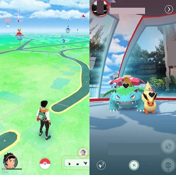 Palestra Pokemon GO