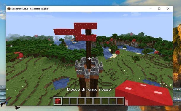 Bandiera torre Minecraft