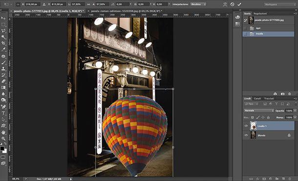 Come fare foto Aesthetic da PC con Photoshop