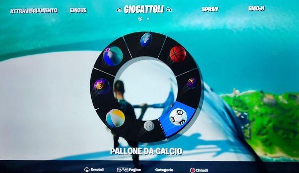 Giocattolo Pallone da calcio Fortnite