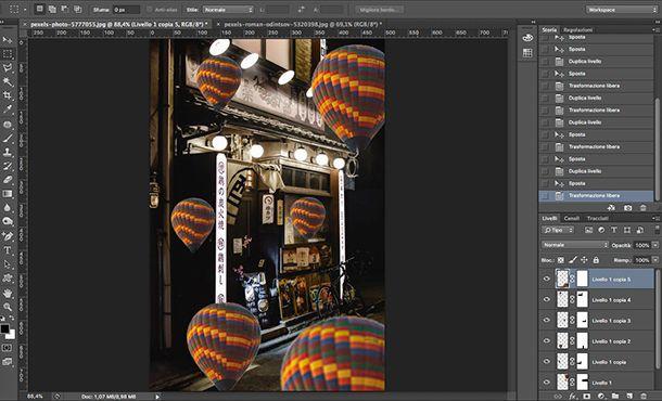 Come fare foto Aesthetic da PC con Photoshop Duplica livello