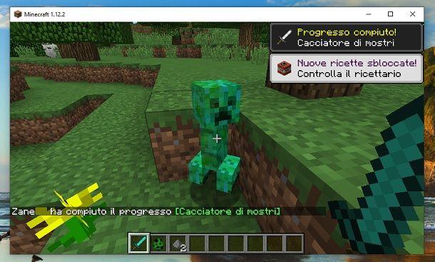 Skin Creeper da raccogliere Minecraft