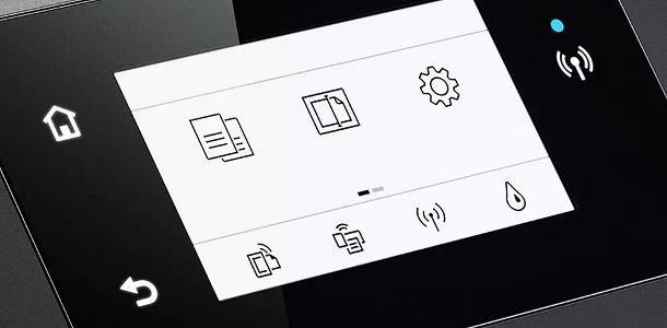 Come resettare una stampante HP con display integrato