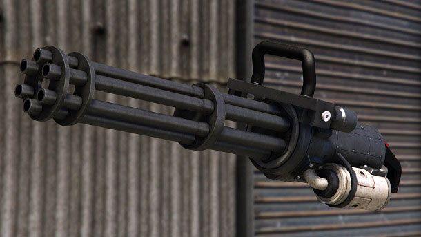 Minigun GTA Online