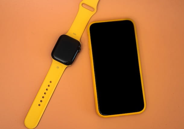 Apple Watch e iPhone