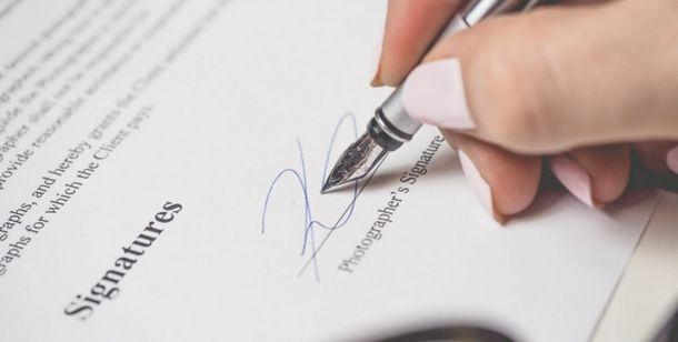 Scegliere la giusta firma