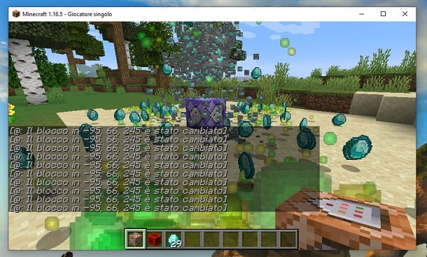Farm di diamanti funzionante Minecraft Java