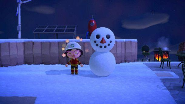 Pupazzo di Neve in Animal Crossing: New Horizons