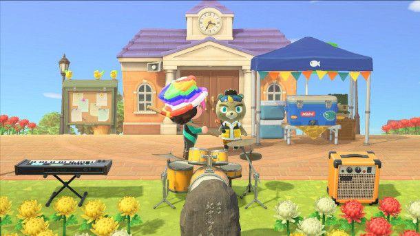 Castorino in Animal Crossing