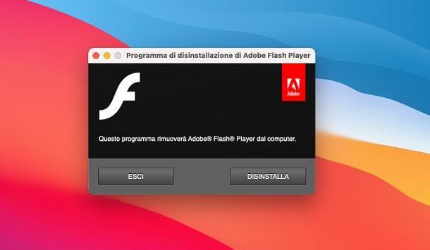 Come disinstallare Adobe Flash Player: Mac