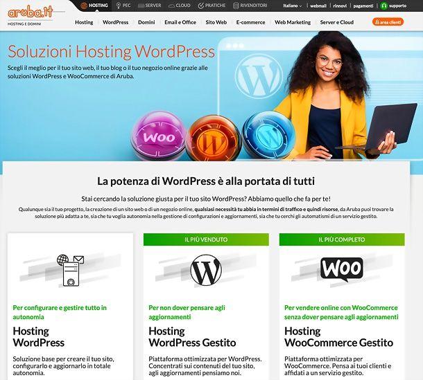 Aruba WordPress