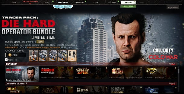 Bundle Die Hard COD Warzone