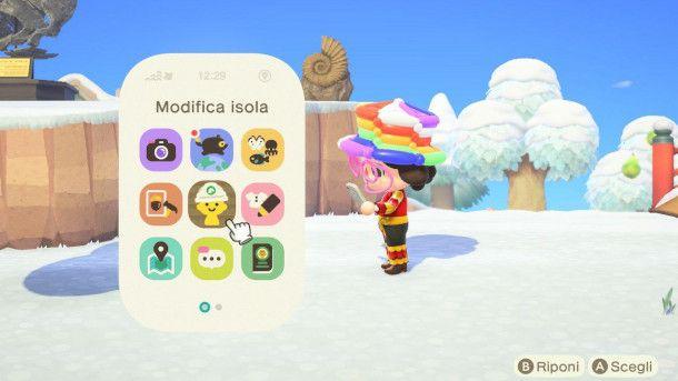 Modifica isola in Animal Crossing: New Horizons