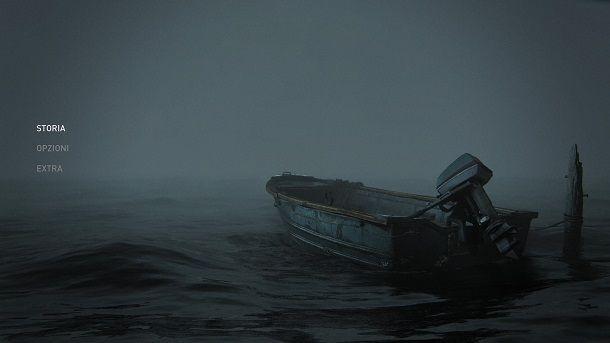 Menu iniziale The Last of Us 2