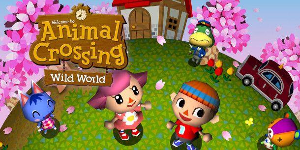 Copertina di Animal Crossing: Wild World