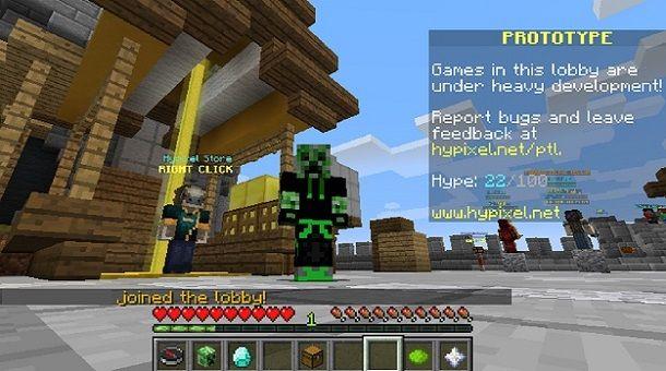 Nascondere nickname Minecraft