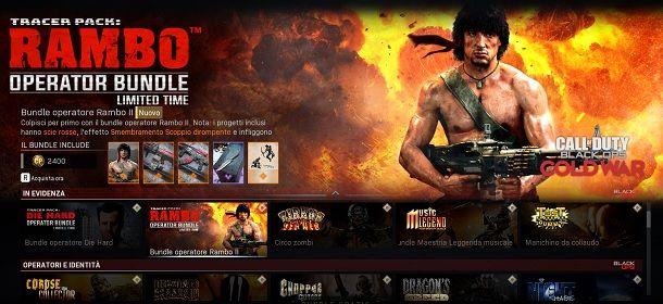 Bundle Rambo COD Warzone
