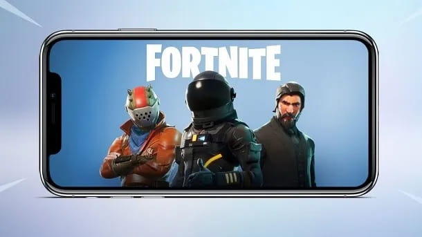Fortnite smartphone