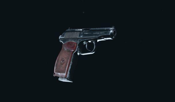 Sykov pistola COD Warzone