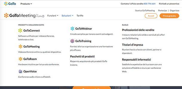 Come funziona webinar con GoToWebinar