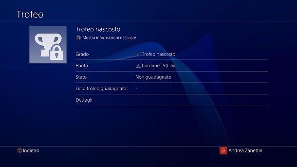 Trofeo nascosto The Last of Us 2