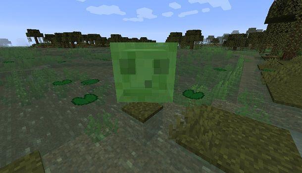 Slime su Minecraft