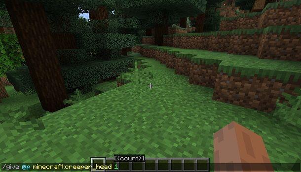Come givvarsi le cose su Minecraft Java Edition