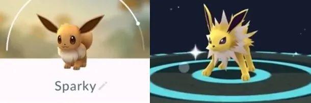 Altre evoluzioni Eevee Pokemon GO
