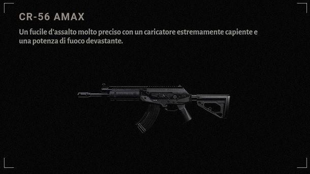 CR-56 AMAX Descrizione COD