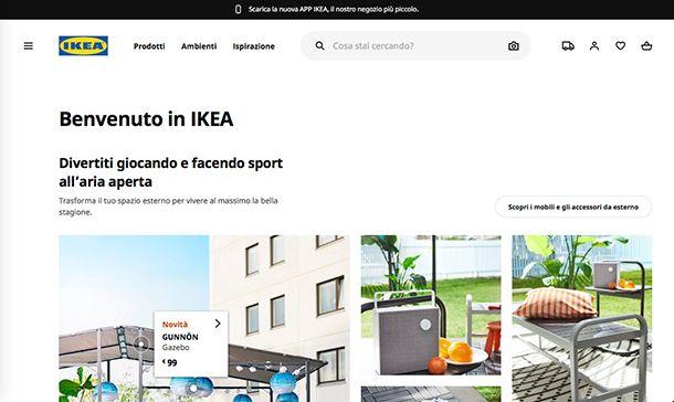 Migliori ecommerce Italia Ikea