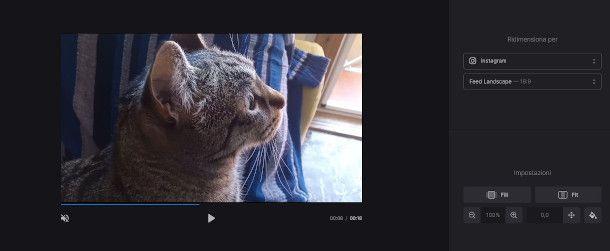 clideo aumentare risoluzione video
