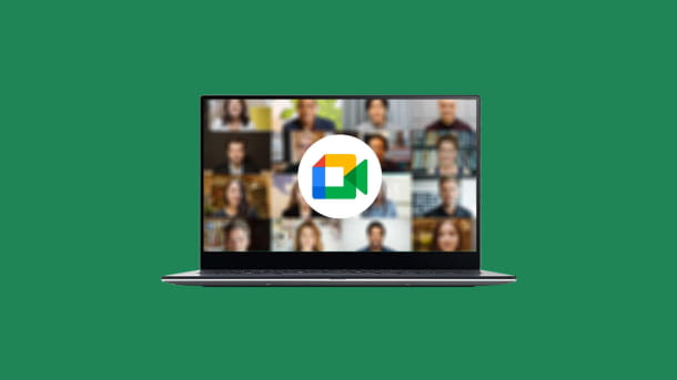 Google Meet computer