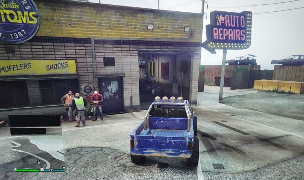 Los Santos Customs GTA Online