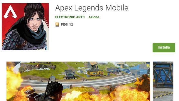 Come scaricare Apex Legends Mobile sul Play Store