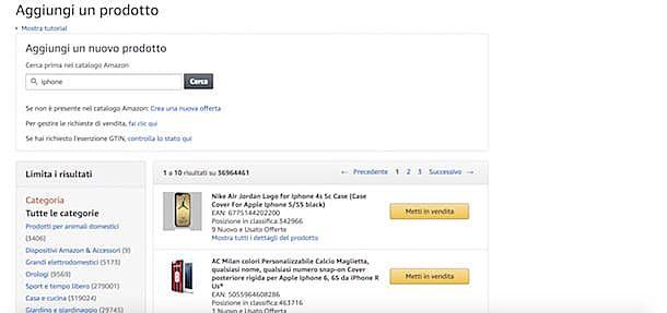Come fare dropshipping su Amazon account venditore