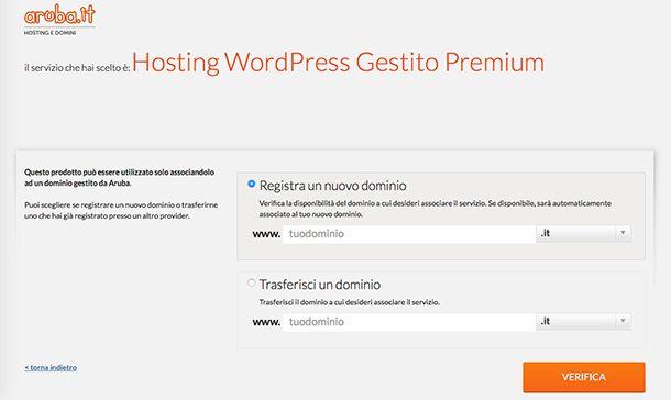Come gestire un sito Web con Hosting WordPress Aruba Gestito