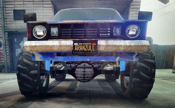 Auto targa iFruit GTA Online